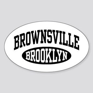 Brownsville Brooklyn Sticker (Oval)